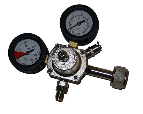 Gas regulator  RP-CO2-4B-LAT